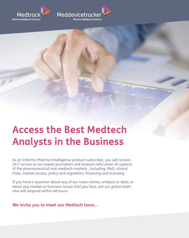 Access the Best Medtech Analysts in the Business