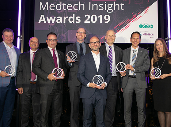Medtech Insights 2019 winners