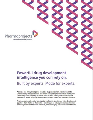 Pharmaprojects