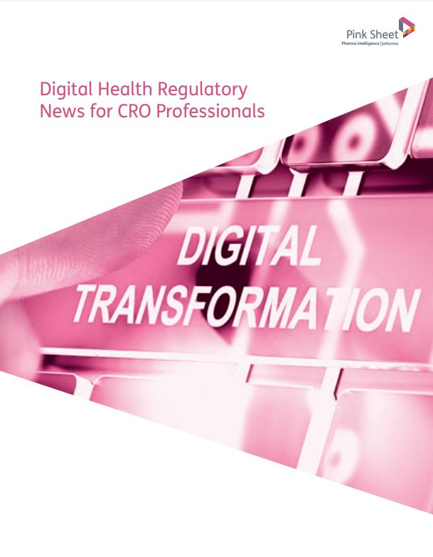Digital Health Regulatory News for CRO Professionals