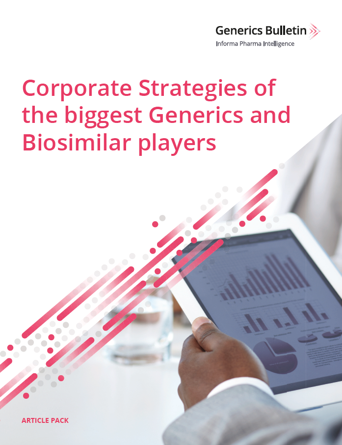 Corporate Strategies of the biggest Generics and Biosimilar players