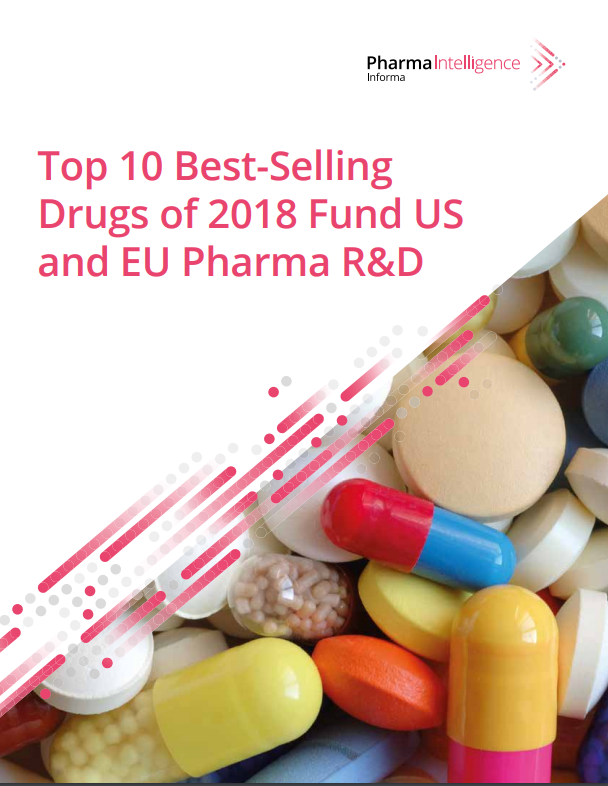 Top 10 Best Selling Drugs of 2018 Fund US and EU Pharma RD I