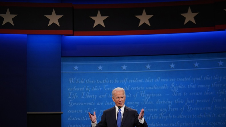 Biden US Election 2020 final debate