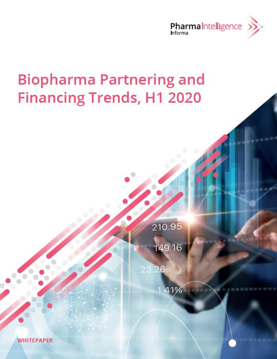Biopharma Partnering and Financing Trends, H1 2020 Whitepaper