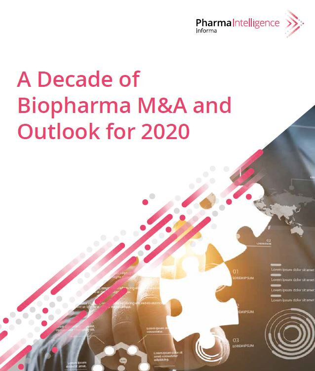 A Decade of Biopharma M&A and Outlook for 2020