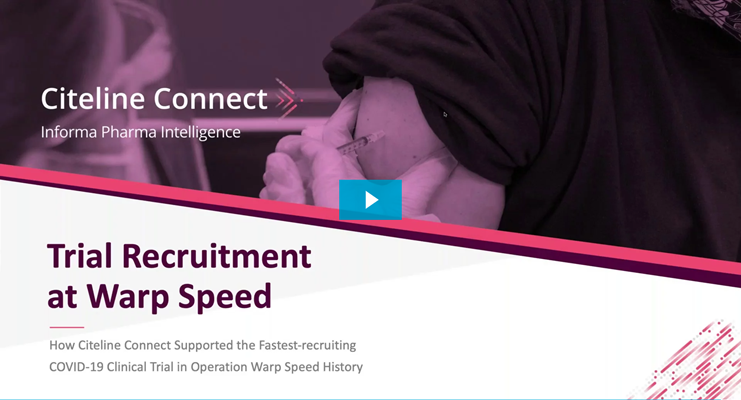 COVID-19 Trial Recruitment at Warp Speed