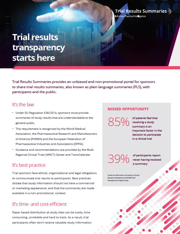 Trial Results Summaries Overview