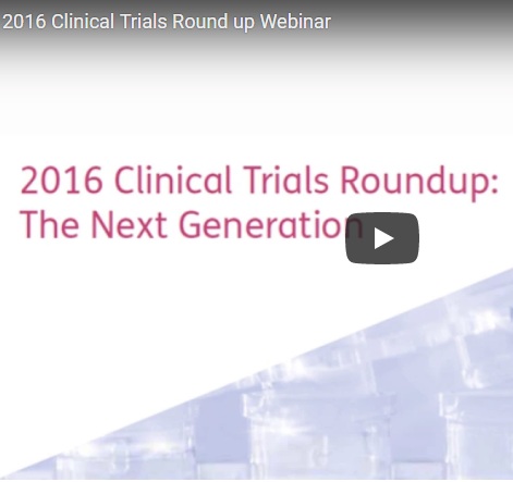Clinical Trials Webinar Roundup