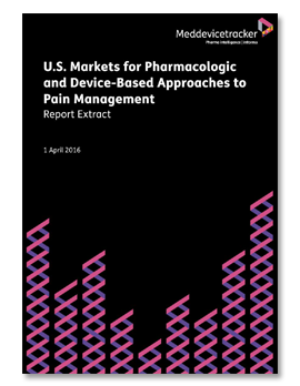 U.S. Markets for Pharmacologic and Device-Based Approaches to Pain Management Meddevicetracker.