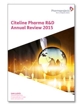 Citeline Pharma RD Annual Review 2015